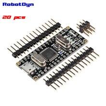 20 шт. БЕСПЛАТНАЯ ДОСТАВКА с отслеживанием-Nano V3 ATmega328/CH340G, Micro USB, контактный НЕ спаяны. совместимый для Arduino Nano V3.0