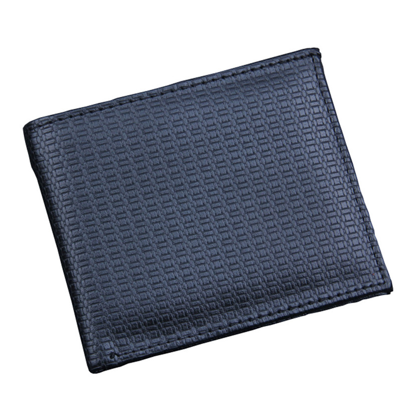 Wallet Men Bifold Business Leather Wallet  ID Credit Card Holder Purse Pockets Dropship Carteira Masculina
