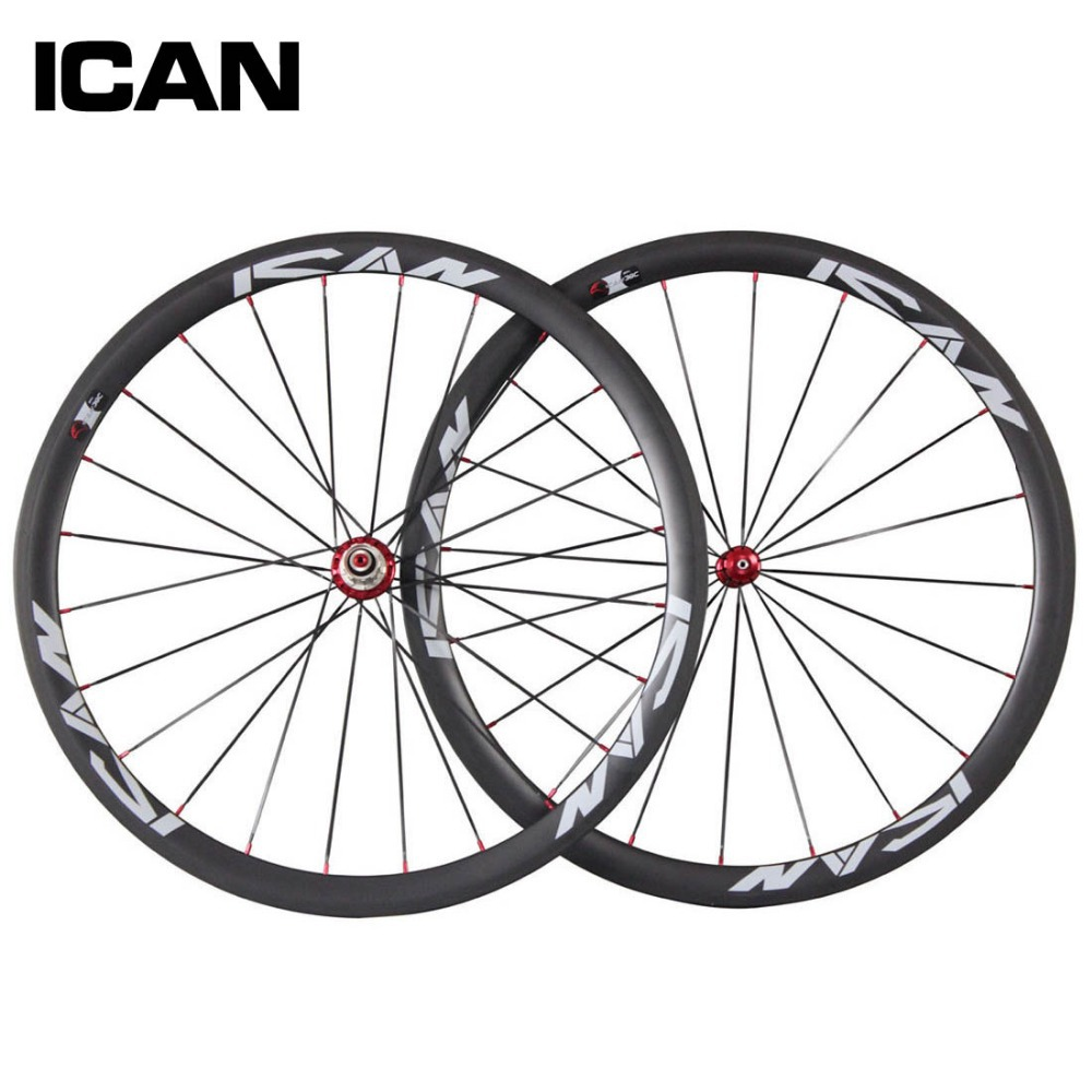 Free Shipping 38mm clincher Chinese racing wheelset 23mm width Toray 700C UD Matt aero road wheels R36 carbon red or black hub борисова м тематические подвижные игры для дошкольников
