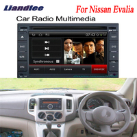 Liandlee 2 din Car Android GPS Navi Navigation Maps Radio CD DVD For Nissan Evalia 2009~2012 Player Audio Video Stereo OBD2 TV