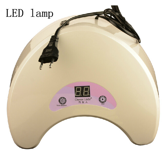 18W led lamp for nails dryer led nail lamp for drying fingernails manicure set gel varnish with lamp for drying gel varnish