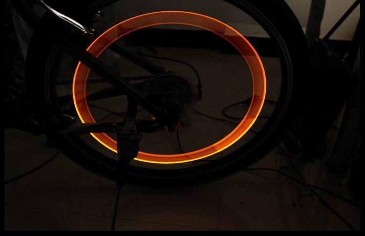4x Bike Light Road Bicycle Lights LED Wheel Valve Caps Light lamp lamps