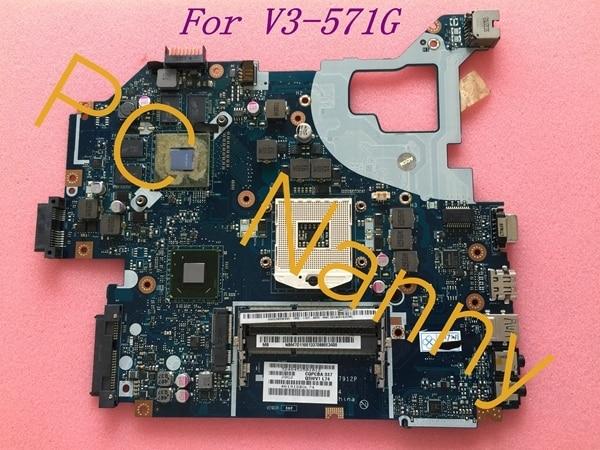 Para acer v3-571g motherboard sistema nbm7d11001 q5wv1 la-7912p nvidia geforce gt 730 m hm77 testado