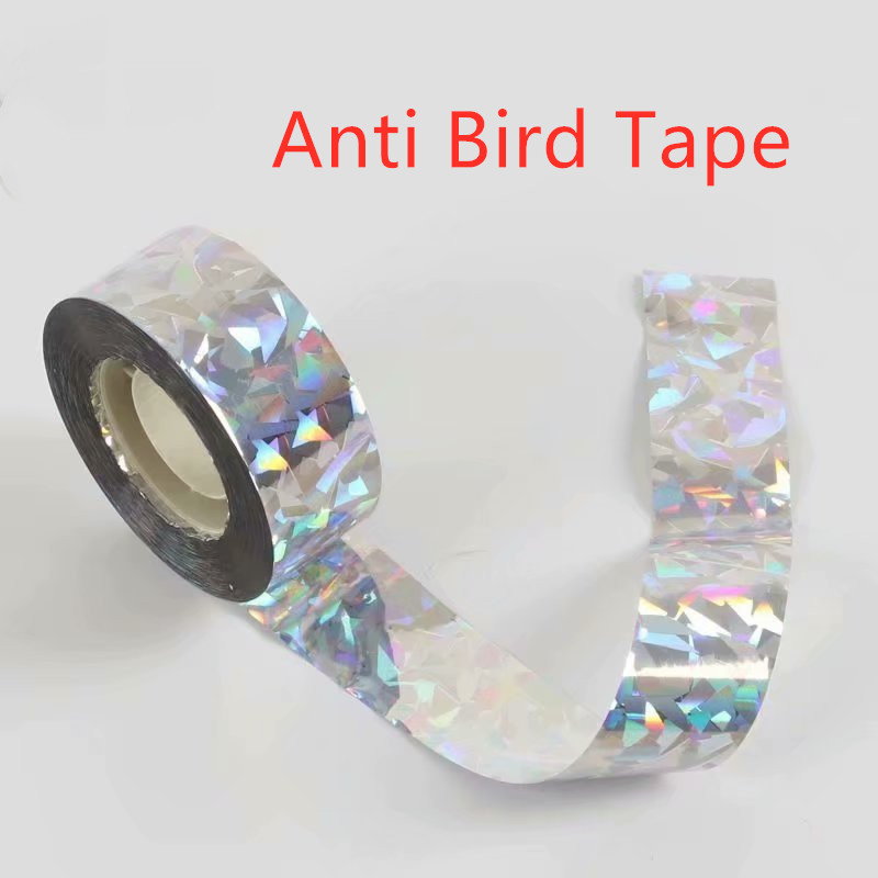 Anti Bird Tape Bird 90M Scare Tape Audible Repellent Fox Pigeons Repeller Ribbon Tapes For Pest Control