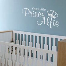 Free shipping Our Little Princess / Prince Wall Stickers For