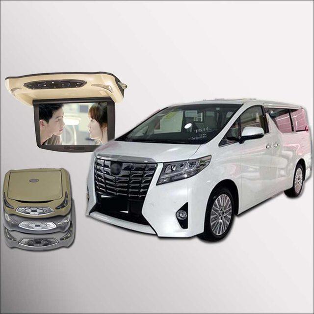 bigbigroad for toyota alphard car roof mounted monitor led digital rh aliexpress com Toyota Alphard Seats 2016 Toyota Alphard