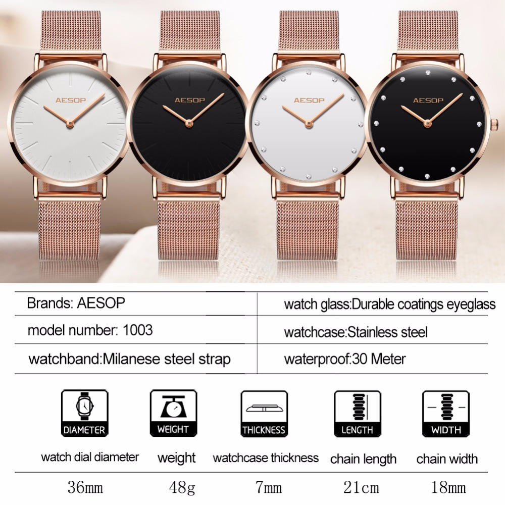 Watches 2018 New Fashion Guou Brand Luxury Women Genuine Leather Clock Or Rose Steel Watch Watches Simple Casual Dress Ladies Gift Durable Modeling