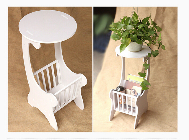 Free Shipping North Europe Rococo Design Plastic Environmental Lamp - Rococo side table