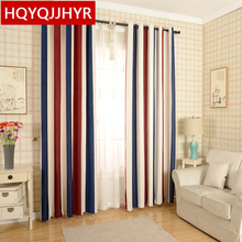 new bars Mediterranean chenille blackout curtains for living room Upscale thicker curtains for window bedroom/balcony