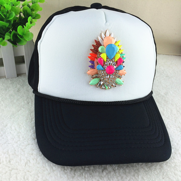 2015 New Adult Shourouk Summer Hats For Women Top Baseball Caps Girl Snapback Hat Cotton Lady Hat Fashion Big Brand Sun Hats