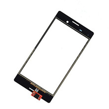 100% New Best Quality Touch glass Panel For Sony Xperia M4 Aqua E2303 E2333 E2353 Touch Screen Digitizer with logo free ship