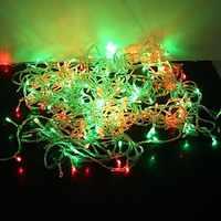 IWHD 20 M LED boże narodzenie światła na zewnątrz kryty 110/220 V Navidad Garland ślub bajki boże narodzenie światła LED Luzes de Natal