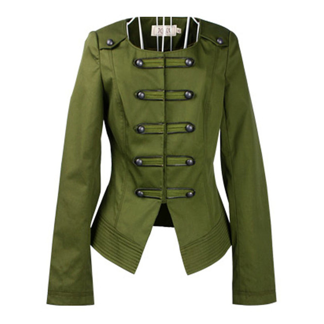Spring Jacket for Women Clothes O Neck Chest Buttons Slim Casual Short Overcoat Feminino Chaquetas Mujer