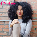 2016 Fashion Afro Kinky Curly Wig Short Wigs for Black Women With Baby Hair Synthetic Wigs Goldway Short Pixie Cut Wigs Natural