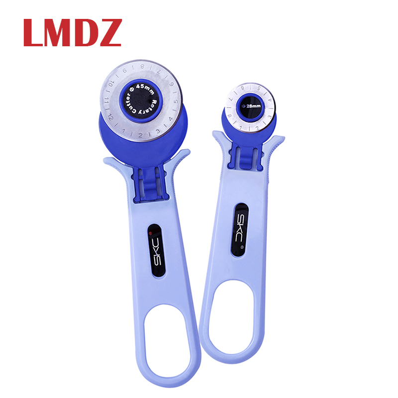LMDZ 1PCS 28mm 45mm Circular Rotary Cutter Blade Patchwork Fabric Leather Craft Sewing Tools Fabric Cutting Leather Craft Tool