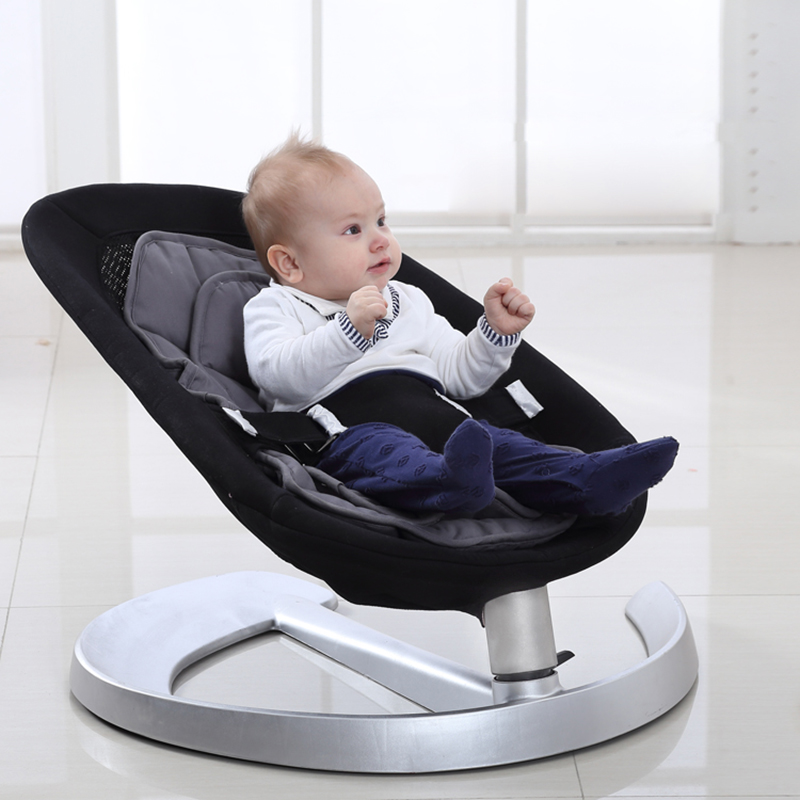 2019 Hot Sale Basic Baby Crib Baby Swing Cradle Children's Swings Baby Cribs Cot Bassinet Double Cushion