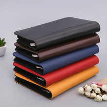 A5/B5 Leather Notebook  Dairy Planner Organizer Notepad Travel Agenda Manager  Folder Calculator And Office planner Supplies 2018 yiwi a5 a6 black hobo planner woolen hobonichi planner organizer agenda dairy notebook cover