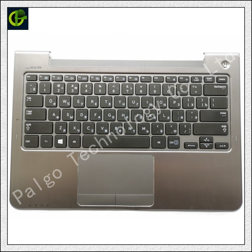 Russian Keyboard for Samsung NP530U3C NP530U3B NP535U3C 530U3B 530U3C NP540U3 NP532U3C NP532U3A RU with gray palmrest cover крепление для жк дисплея ноутбука for samsung samsung 5 np530u3b np530u3c np532u3c np532u3x np535u3c np535u3b ba75 03780a np530 np535 np535u3b np530u3b np530u3c np532u3c np532u3x np535u3c