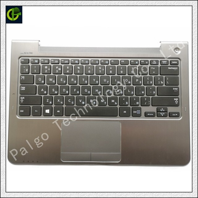 b0fa2ede1c8 Russian Keyboard for Samsung NP530U3C NP530U3B NP535U3C 530U3B 530U3C  NP540U3 NP532U3C NP532U3A RU with gray palmrest cover