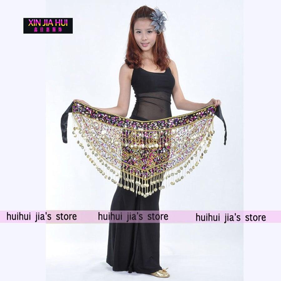 Shiny Hip Sál Belly Dance ruhák eladása Női gyönyörű Belly - Újdonság