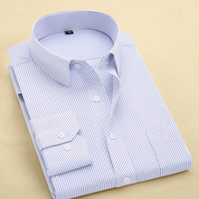 FillenGudd Plus size 8XL Long Sleeve Solid Men Dress Shirts Large 7XL 6XL White Social Shirts Cheap China Imported Men Clothing