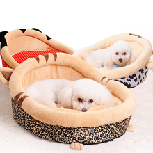 Warm Fleece Lounger Sofa for Small Dogs