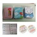 40 Pcs Band-aid Ataduras de Gesso Ferida Respirável À Prova D' Água Adesivo Bonito Dos Desenhos Animados Hemostase Band Aid Kit de Primeiros Socorros C739