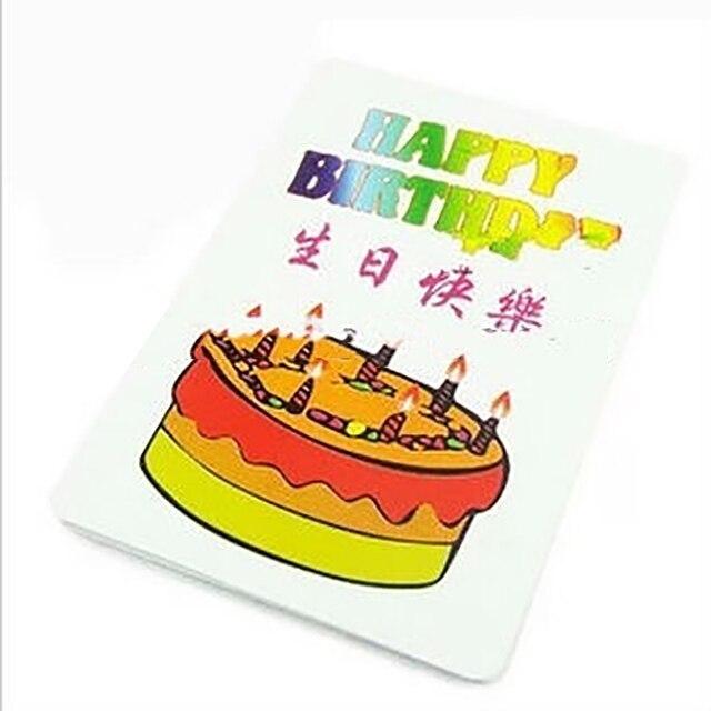 Happy Birthday Card Group Prediction Magic Tricks Magic Props In