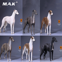 Mr.Z 14th Bomb 1/6 Scale Greyhound Figurine Dog Statue Lifelike Animal Model for 12 Action Figure Accessory 001 002 003 004 005