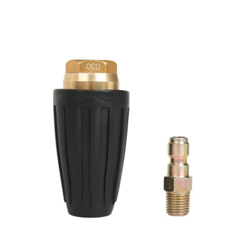 1/4 высокого давления Быстрое соединение вращающееся 360 градусов турбо сопло для мойки высокого давления GPM 2,5/3/3,5/4,0 - Цвет: 2 5