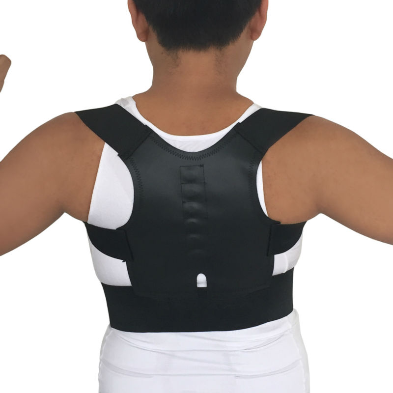 Othopedic Corset Back Correction Men Posture Corrector Straight Back Shoulder Lumbar Support Corset Back Pain  Relief B001