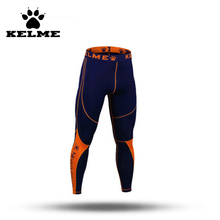 KELME Man Fitness Leggings Soccer Pants Sport Leggings Mens Colored Tights Compression Pants Men Base Layer Pant Bodybuilding28