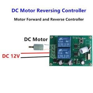 Image 3 - Interruptor inalámbrico RF de 433 Mhz módulo receptor por relé DC12V y controles remotos de 433 Mhz para controlador de avance y retroceso del Motor DC