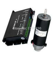 (Drive+Motor) 1Set 120W DC Servo Drive DCS810S + Motor DCM50207 1000 Brush DC18 80V 30.3VDC 120W 2900RPM