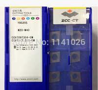 無料ショッピング! zcc. ct CCMT09T304-EM ybg205切削工具旋盤cncブレード合金超硬切削工具超硬インサート