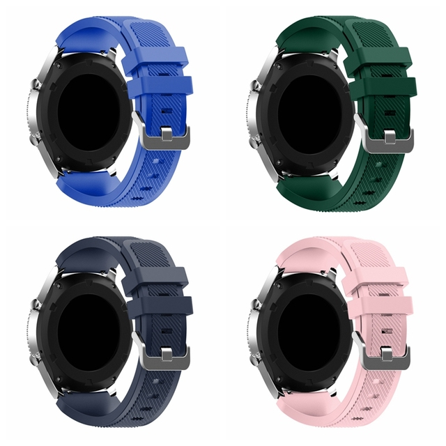 Onthelevel for Samsung gear S3 classic sports silicone belt 22MM waterproof and sweat-proof strap 5