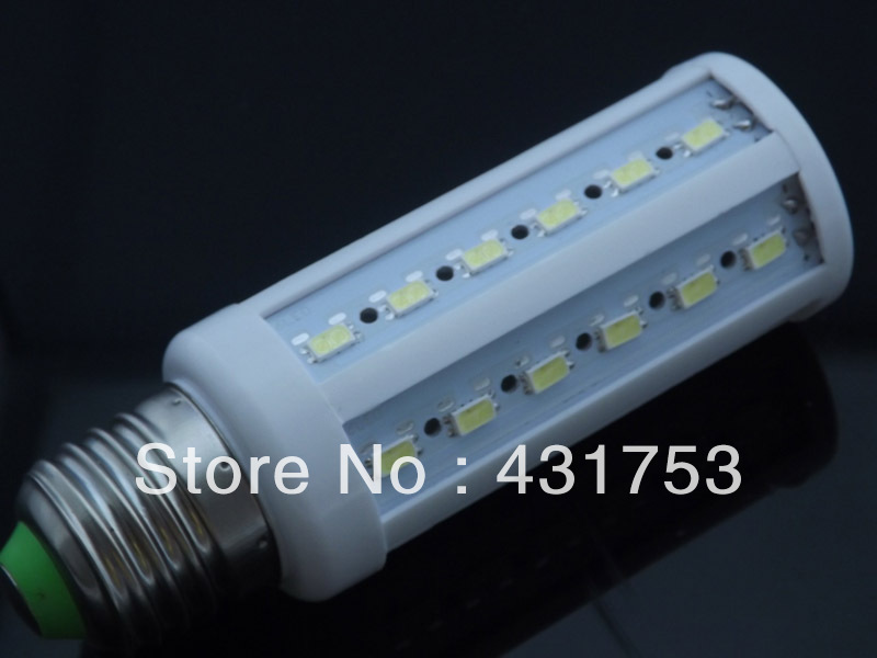 12W E27 B22 E14 44LED 5630 SMD 110V / 220V LED Corn Bulb 360 Degree Light LED Bulb Lamp CE&RoHS certificated (Free shipping)