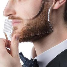 BellyLady Men Beard Shaping Styling Template Comb Men's Beards Combs Beauty Tool for Hair Beard Trim Templates