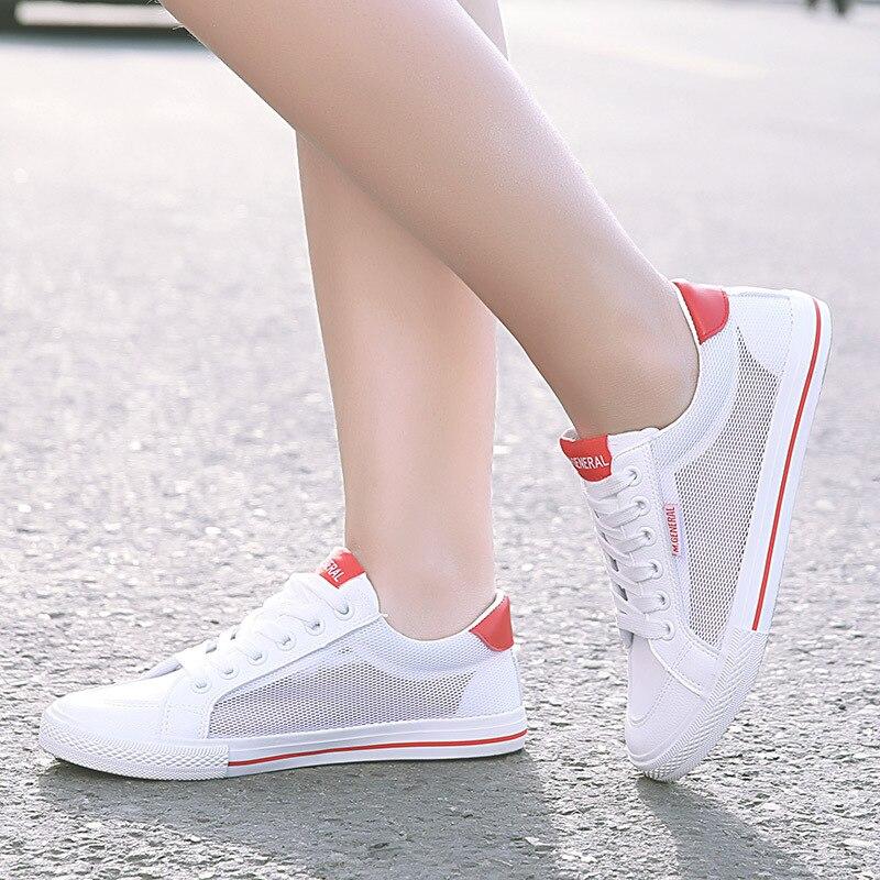 Sterne Frühjahr Neue Single Schuh Boden Belüftung Bildschirm Tuch Koreanische Mode 0633-ALEX