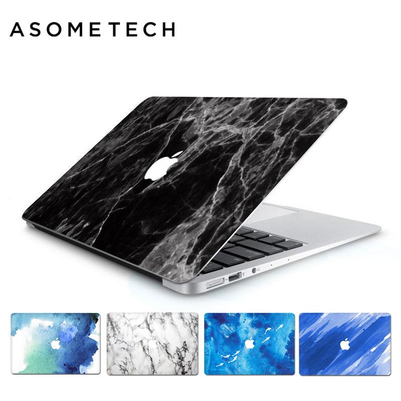 Für Macbook Retina Air Pro 13,3 15,4 Graffiti Aufkleber 3D Marmor Schutzhülle PVC Laptop Notebook Haut für Macbook 11/ 12/13/15 zoll
