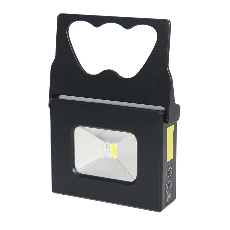 Outdoor LED Camping Tent Light 10W Portable Emergency Lighting Portable COB Flood Light USB Charging Light Lllumination 13w running time12hours ip65 white constand and red flash portable light emergency light led flood light camping light