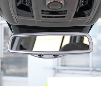Lsrtw2017 الفولاذ المقاوم للصدأ سيارة الداخلية الرؤية الخلفية إطار trism ل السور العظيم هافال H9 2015 2016 2017 2018 2019 2020