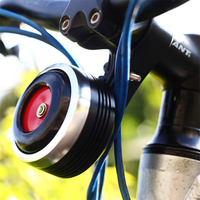 USB Charging 1300 mAh Bicycle Bell Electric Horn With Alarm Loud Sound waterproof BMX MTB Bike Handlebar Safety Anti theft Alarm