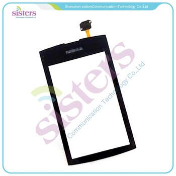 20PCS/lot Wholesale High Qualit Touch Screen Digitizer For Nokia Asha 300 N300  Free Shipping