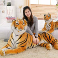 2017 BigTigers Cute Plush Stuffed Animals Plush Doll Soft Tiger Model Baby Kids Birthday Gifts