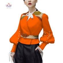 2019 BintaRealWax African Printed Fashion Jacket Female Spring Casual Tops Colorful Ankara Batik Women Clothing WY3871