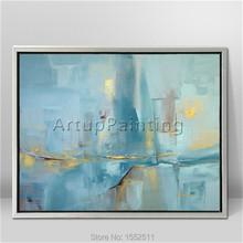 Modern abstract Colour Oil Painting Hand painted canvas  the sitting room Decorative artwork 9