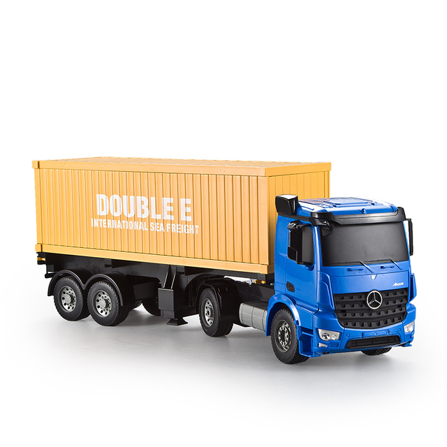 Exceptional 2.4GHZ Remote Control Container Trucks, Rc Truck Trailer 1:10,toys For
