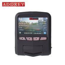 Addkey obd2 de diagnóstico dash cam sony imx322 sensor de visión nocturna de coches dvr cámara dvr grabador de Novatek 96658 Full HD 1080 P wifi app
