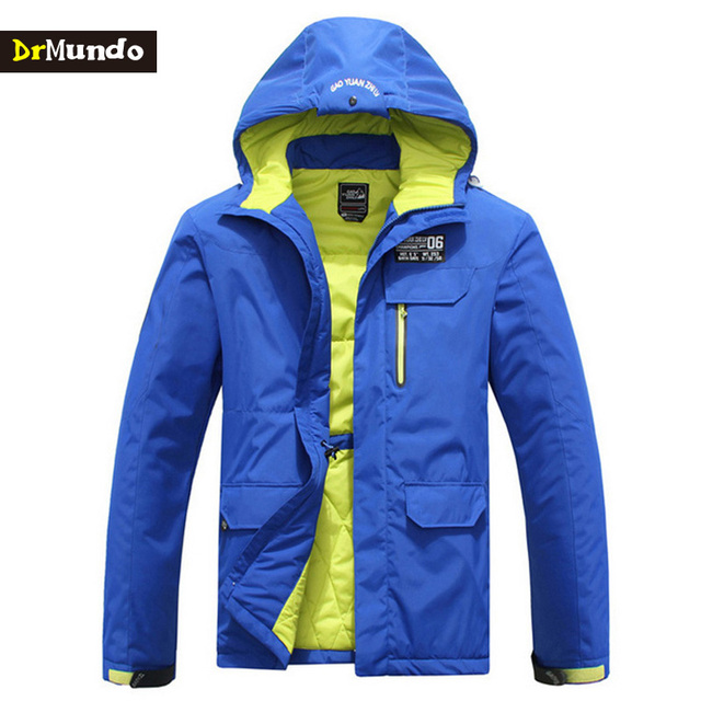DrMundo Winter snowboard jacket men snow clothing jacket snowboard ...
